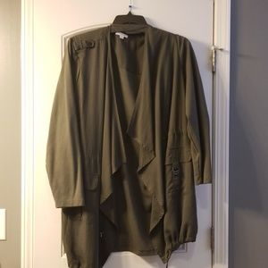 3x Army Green Utility Overpiece